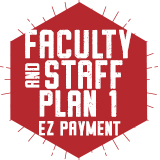 Fall 2017: EZ Payment Faculty/Staff Plan 3