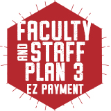Fall 2017: EZ Payment Faculty/Staff Plan 1
